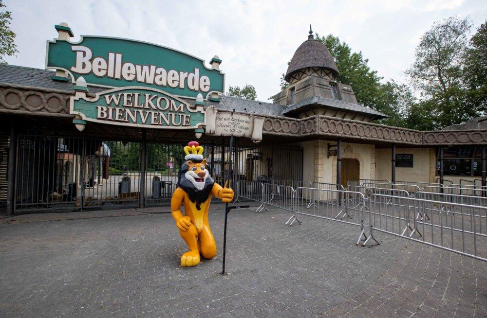 Bellewaerde lõbustuspark Ieperi linnas Belgias