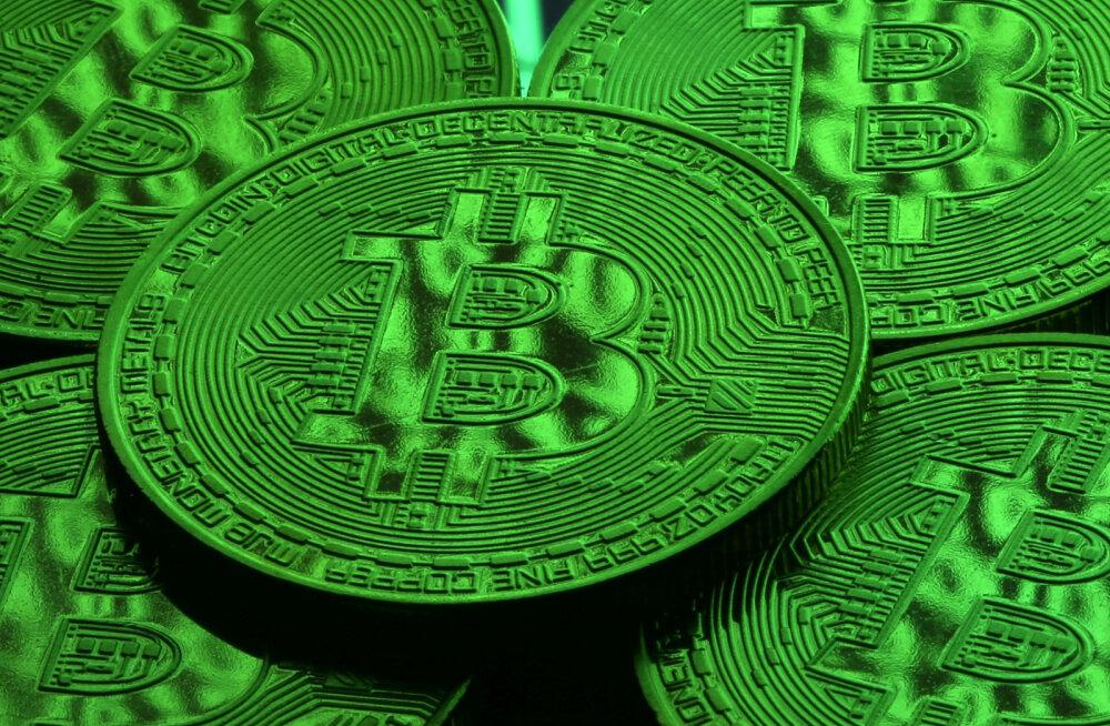 Bitcoin võttis nädalavahetusega hinnas tuhat dollarit juurde