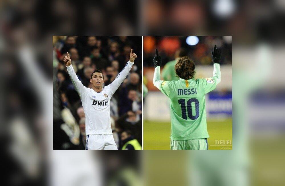 Cristiano Ronaldo / Lionel Messi, jalgpall