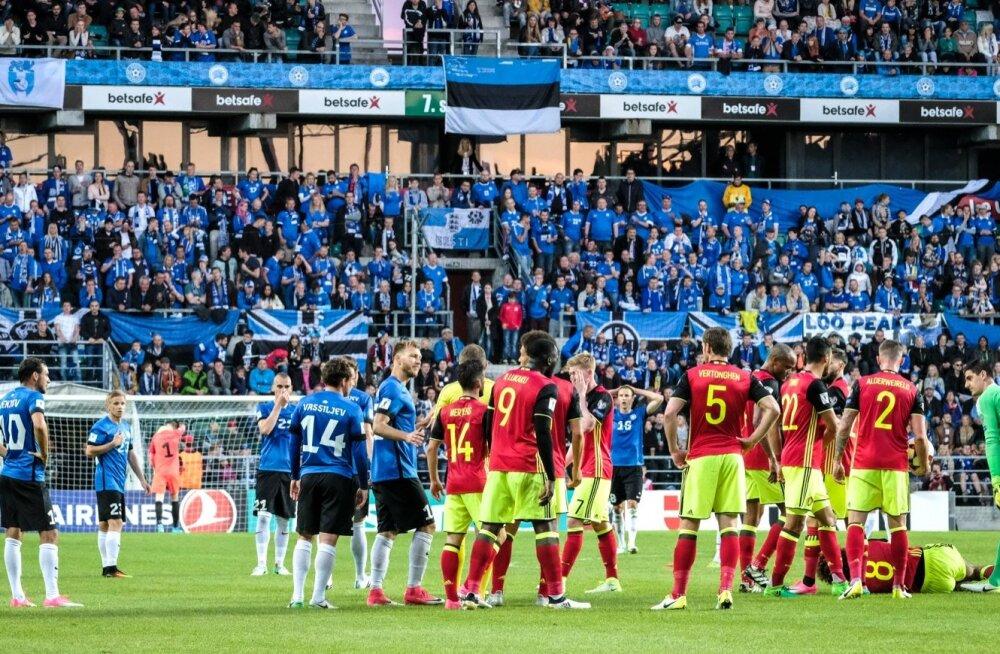 Eesti vs Belgia