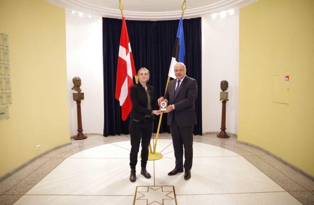 Eesti ja Taani kaitseminister kohtusid Tallinnas