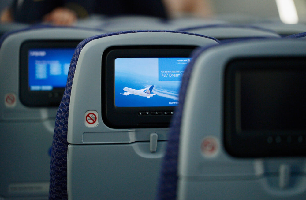 Пассажир определил самое грязное кресло в самолете