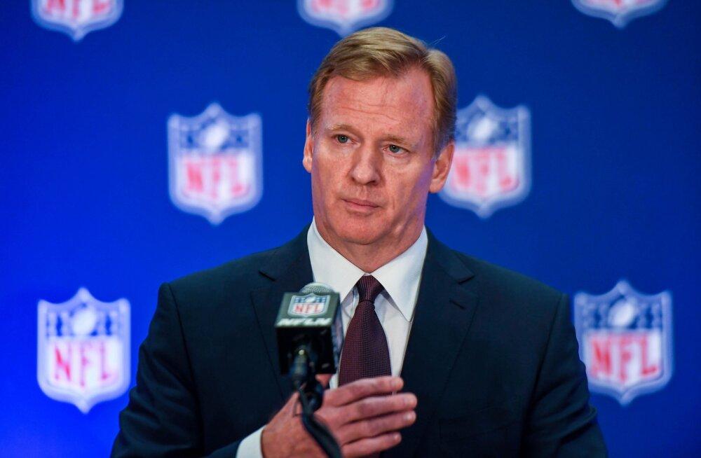 NFL-i boss: me ei saa sundida mängijaid hümni ajal püsti seisma