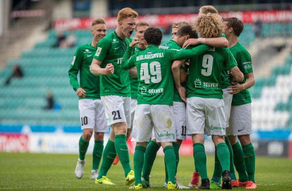 Euroopa liiga jalgpall: FC Flora - NK Domžale