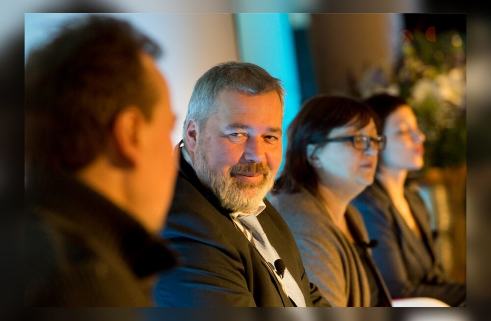 """Главред """"НГ"""" на конференции в Таллинне. 2014 год"""