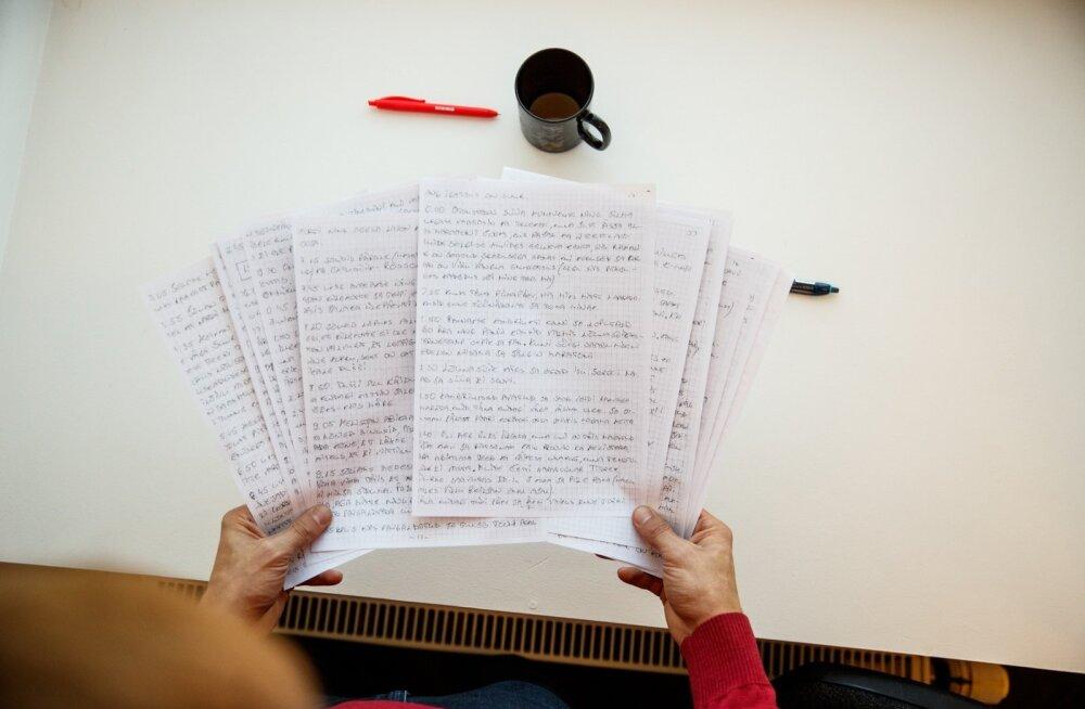 Viru vangla eluaegse vangi päevik: mu elu on nagu lõputu küünlapäev