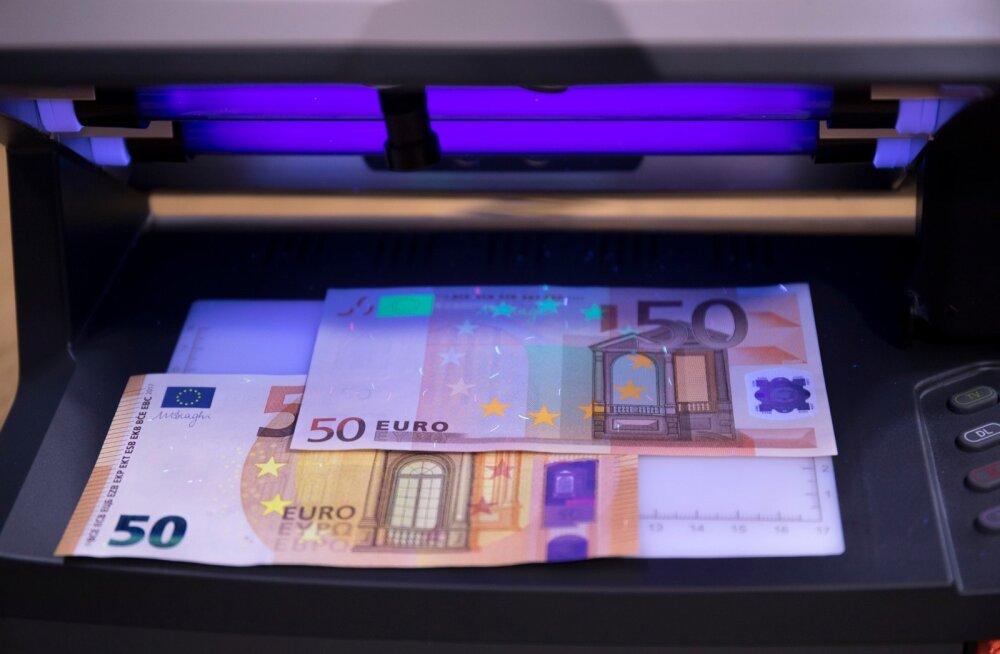 Uus 50eurone. Eesti Pank