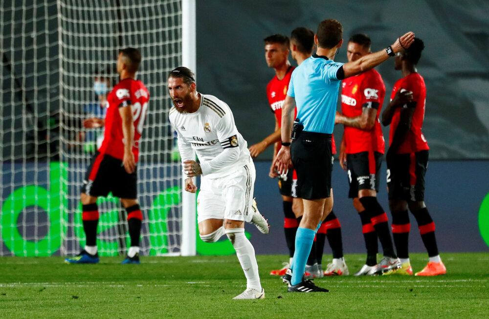 Sergio Ramos on realiseerinud ilusa karistuslöögi