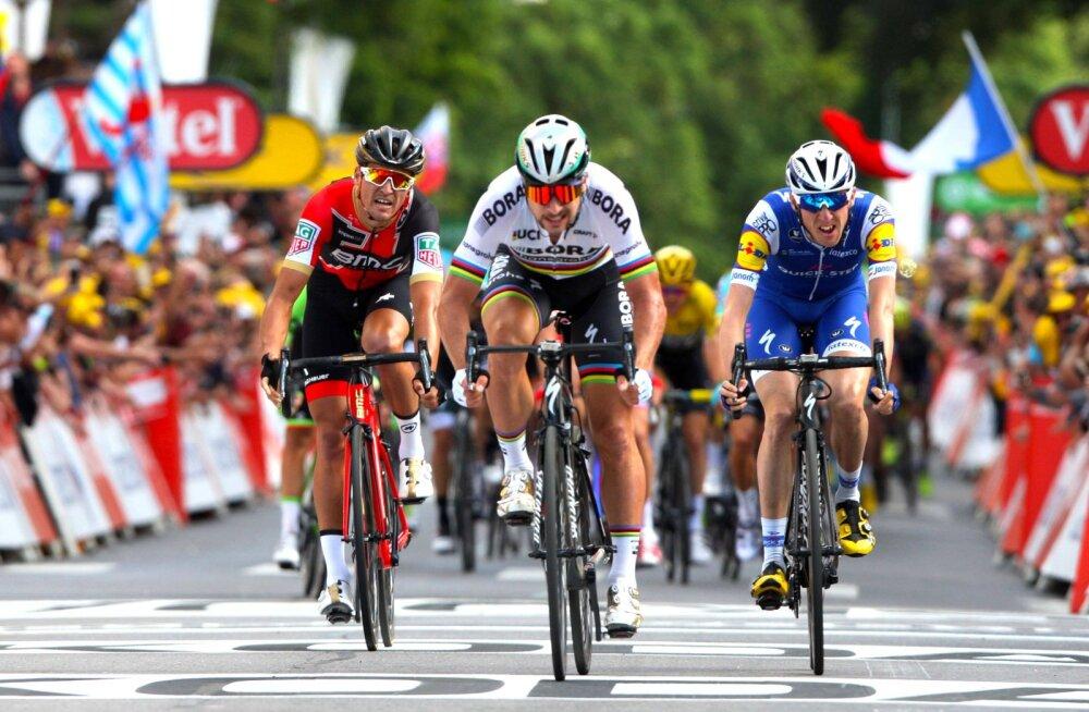 Tour de France'ilt eemaldatud Sagan ei nõustu kohtunike karistusega