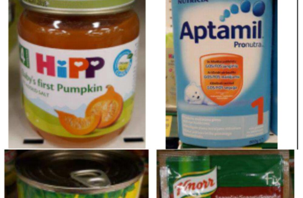 FOTOD | Vaata, millised kummalised Eestis müüdavad tooted osalesid Euroopa toidurassismi uuringus