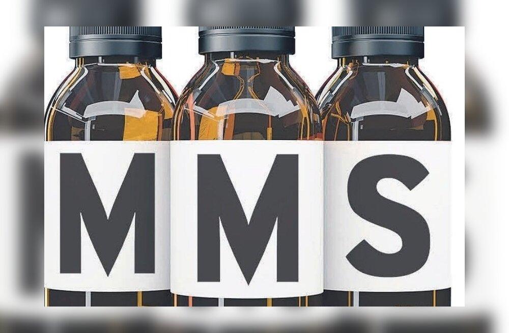 """""""MMS-i nime kandva aine võtmisega kaasnev kõhuvalu ja oksendamine pole mitte märk alanud puhastusprotsessist, vaid tegemist on esmaste mürgistusnähtudega,"""" selgitas terviseameti mürgistusteabekeskuse juht Mare Oder."""