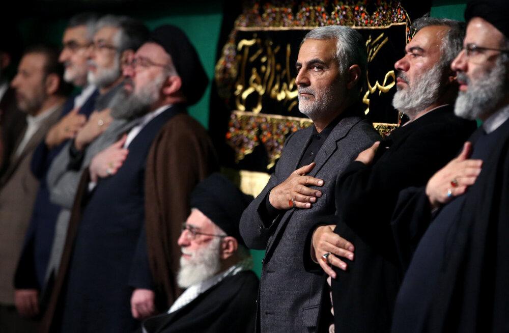USA tappis raketirünnakuga Bagdadis Iraani revolutsioonikaardi mõjuvõimsa kindrali