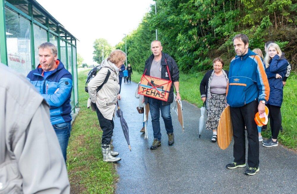 Яна Тоом: не думаю, что жители Ида-Вирума стали бы протестовать против строительства завода по рафинированию древесины