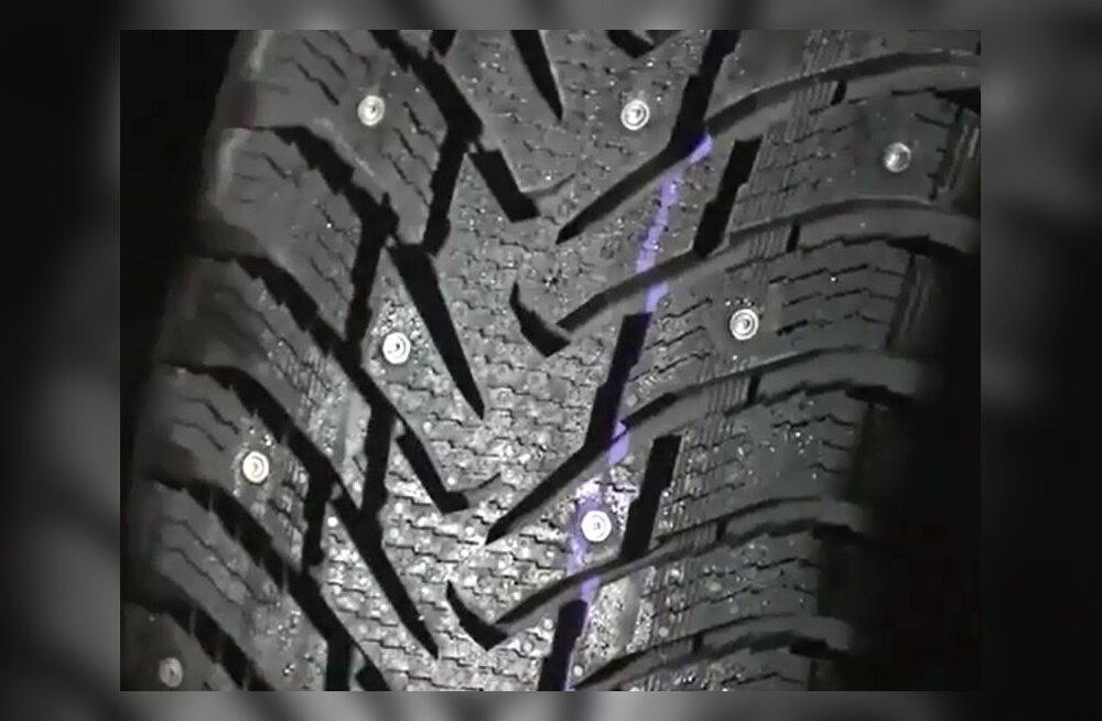 Nokian Tyres: nupuvajutus teeb rehvist naastrehvi