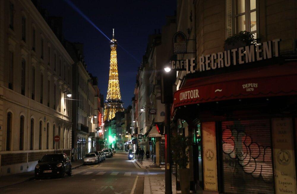 Suletud kohvikud Pariisis