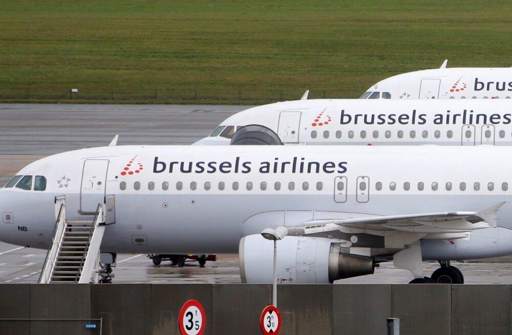 Belgia streik sulges lennuväljad ja sadamad, häiritud on ühistransport