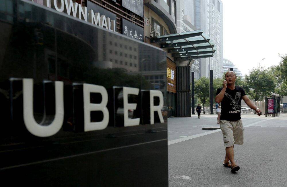 Uber vandus Hiinas konkurendile alla