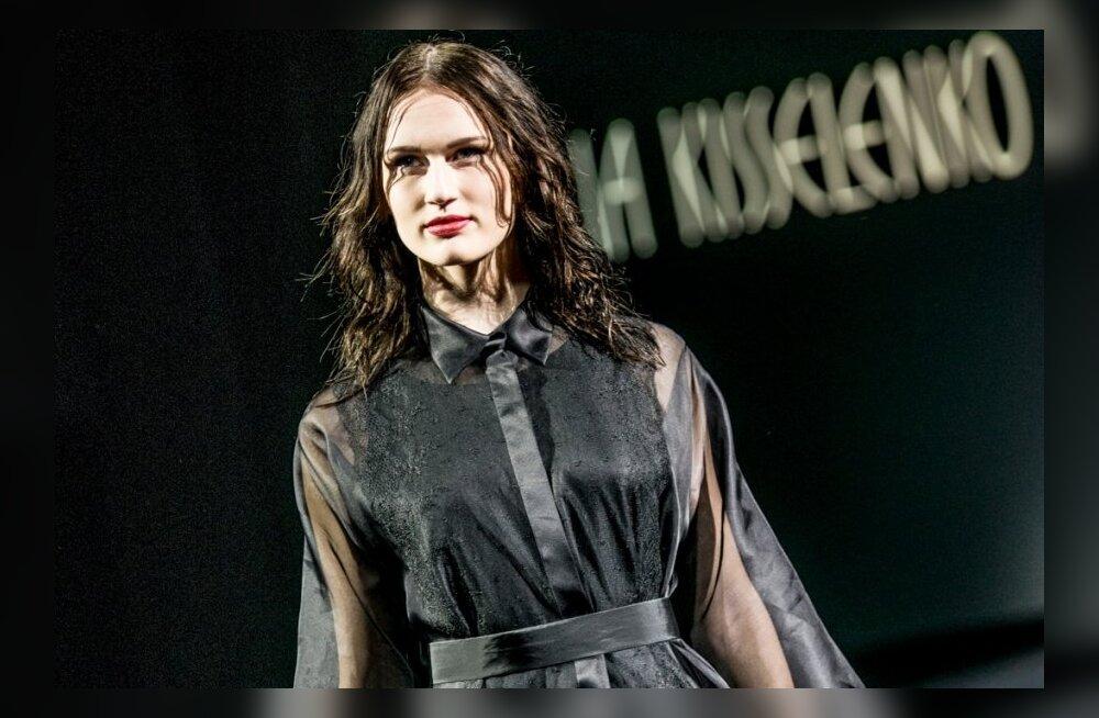 Tallinn Fashion Week: Lilia Kisselenko minimalistlikult mustad iludused