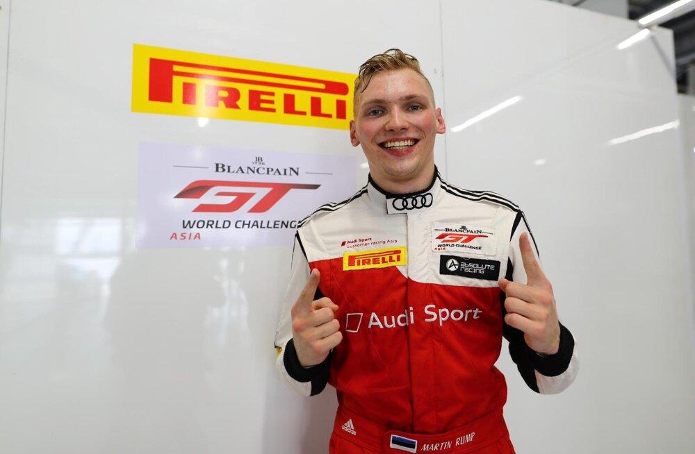Martin Rump saavutas Blancpain GT World Challenge Asia Jaapani etapil poodiumikoha