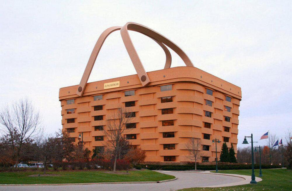 Все для привлечения туристов: в США открывается шикарный отель класса люкс в форме огромной корзины