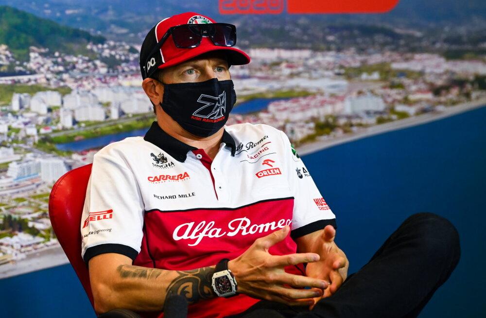 Hamiltoni üle nalja visanud Räikkönen: tänapäeval saavad inimesed kõige peale pahaseks