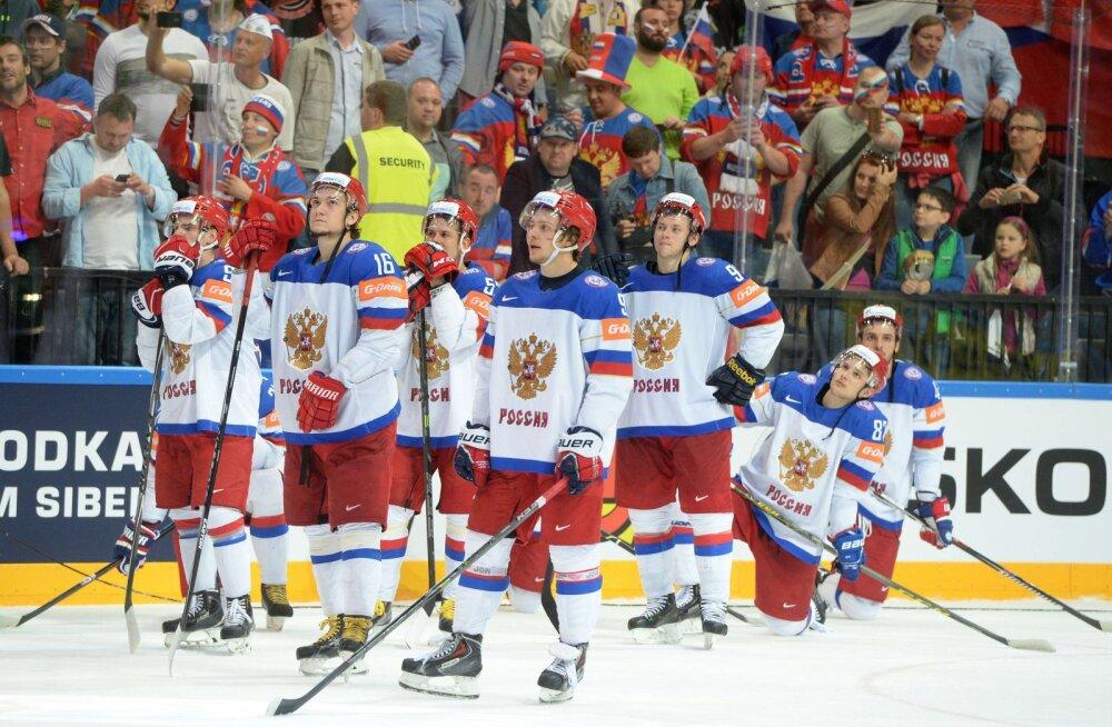 Venemaa koondise jäähokimängijad