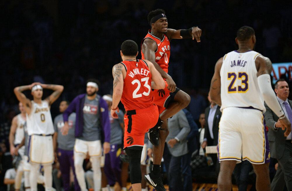 VIDEO | Valitsev meister lõpetas Lakersi seitsmemängulise võiduseeria