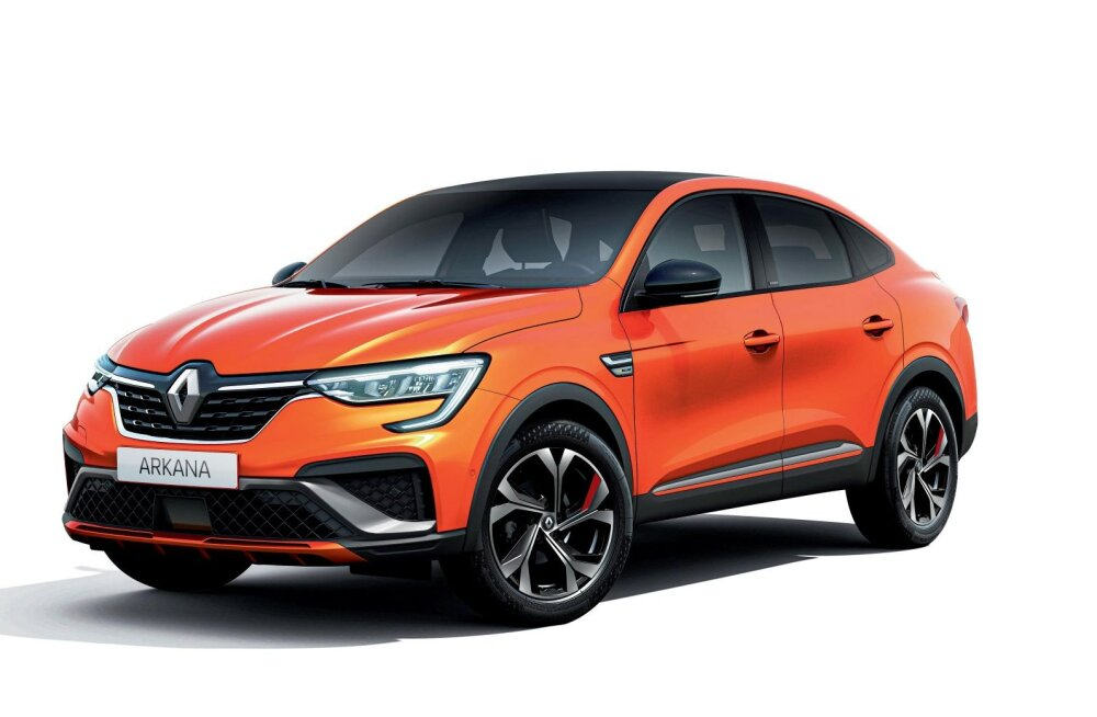 Renault toob oma kupee Arkana Euroopa turule