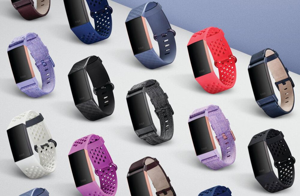 Fitbit tutvustas uut Charge 3 aktiivsusmonitori