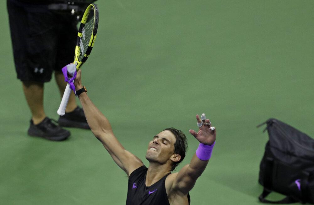 Rafael Nadali jaht 19. suure slämmi tiitlile jätkub