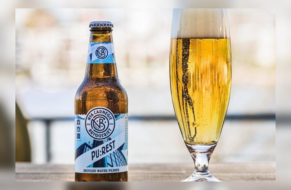 Rootsi õlletootja hakkas tegema reoveest õlut
