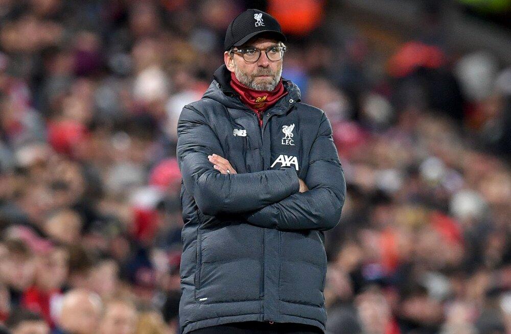 Liverpooli veerandfinaali tüürinud Klopp vihjas järgmise mängu boikoteerimisele