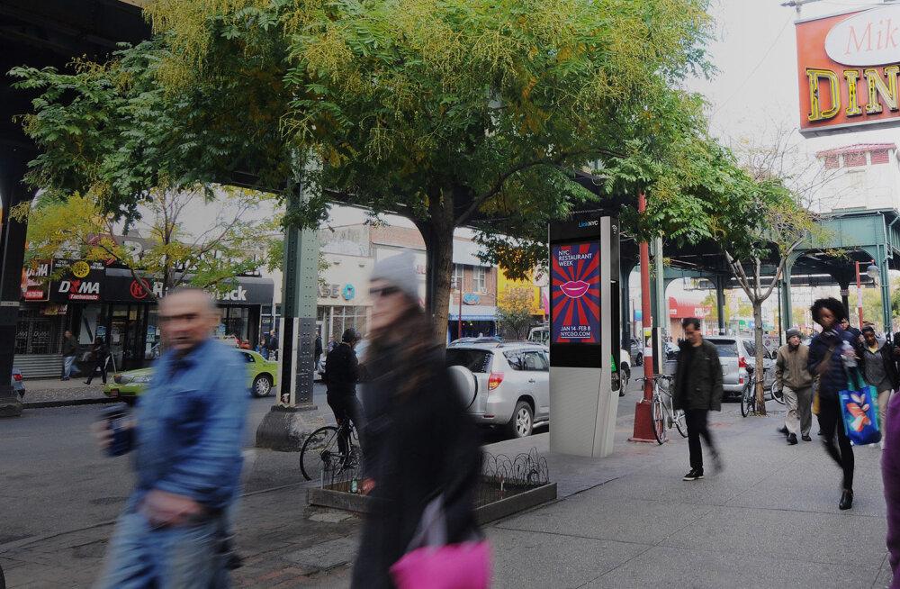 New Yorgi tasuta wifi kioskid ei pakugi enam veebis surfamiseks tahvelarvuteid (teadagi, miks)