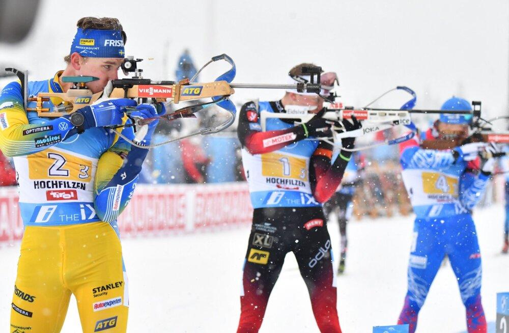 Неожиданная победа Франции и лучший результат Эстонии в эстафете
