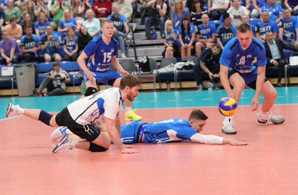 Kellega hakkab Eesti võrkpallikoondis võitlema viimase MM-pileti eest?