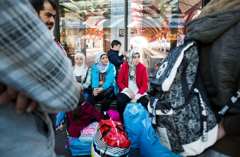 Refugees from Syria