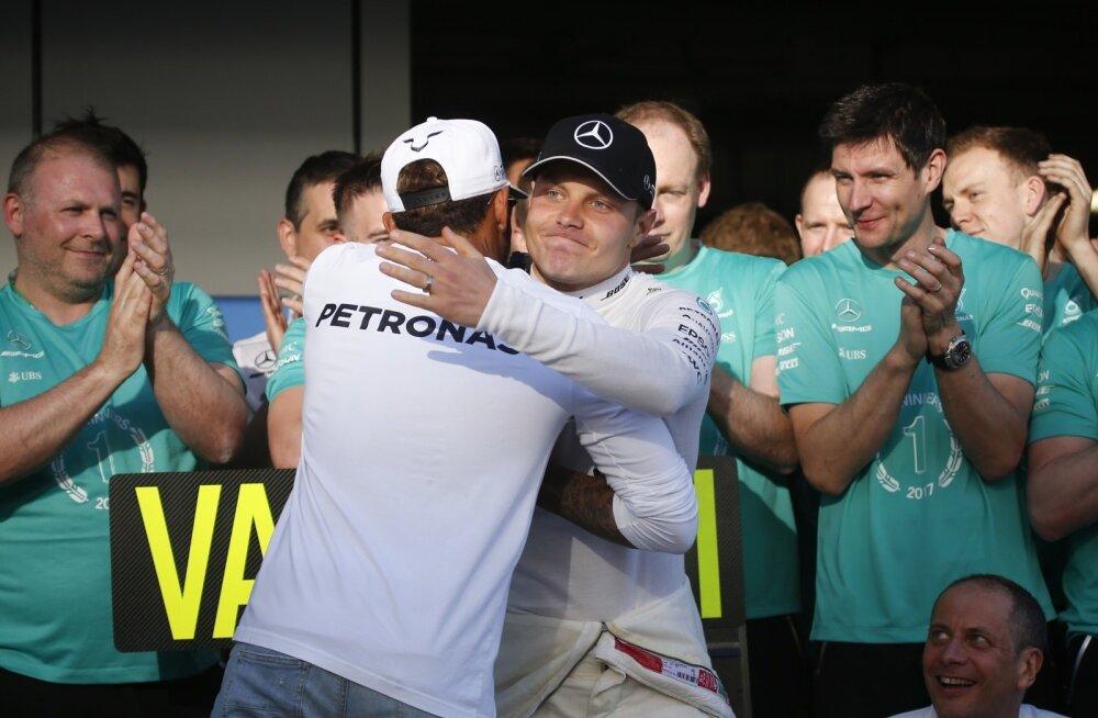 Kas ja kui kauaks on Valtteri Bottase (näoga) ja Lewis Hamiltoni suhted nii soojad, nagu nad välja näitavad?