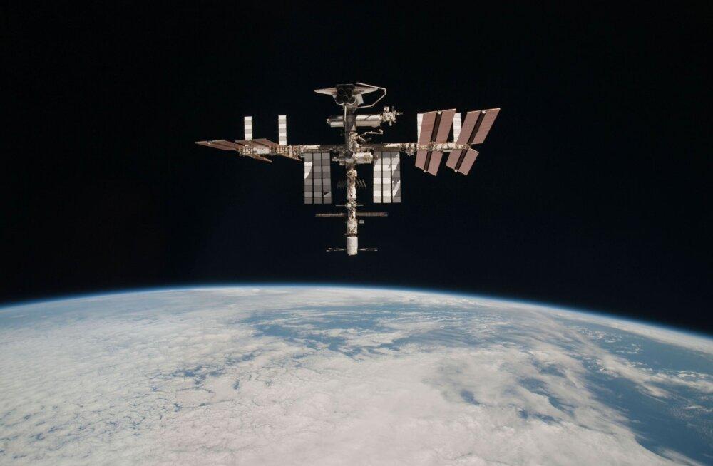 Rahvusvahelise kosmosejaama välisseinalt leiti teadmata päritoluga baktereid