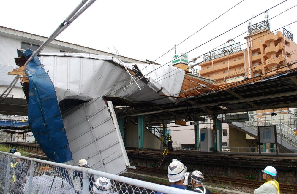 Taifuun Faxai jättis Tokyo piirkonnas üle 900 000 inimese elektrita