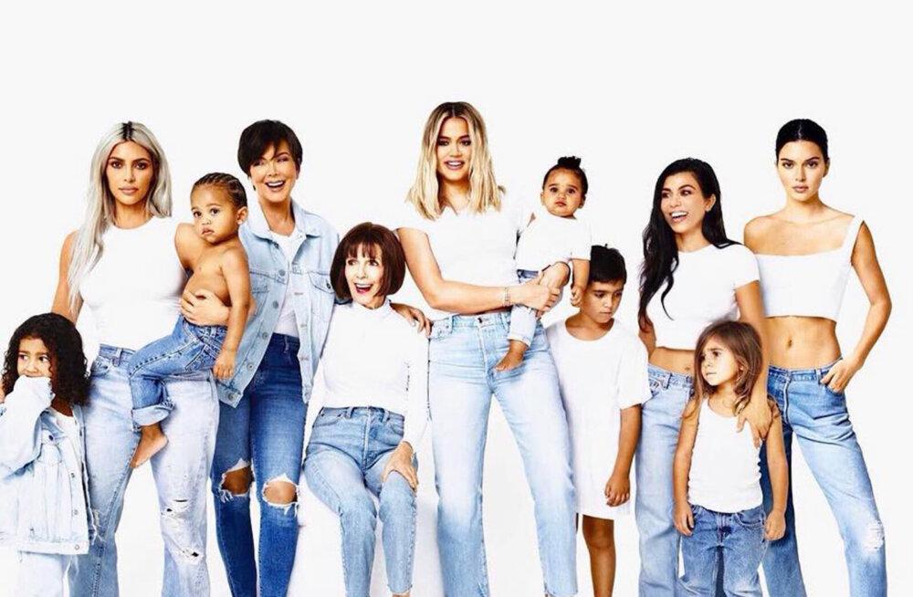 Issand, halasta! Kardashianide iga-aastane jõulupilt jääb mulluse draama tõttu ära?!