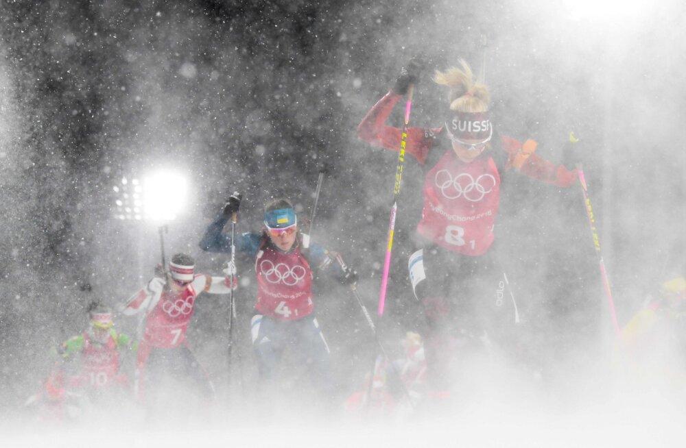 OLÜMPIABLOGI | Valgevene võitis naiste laskesuusatamises ajaloolise teatekulla. Pool võitu Björndalenile?