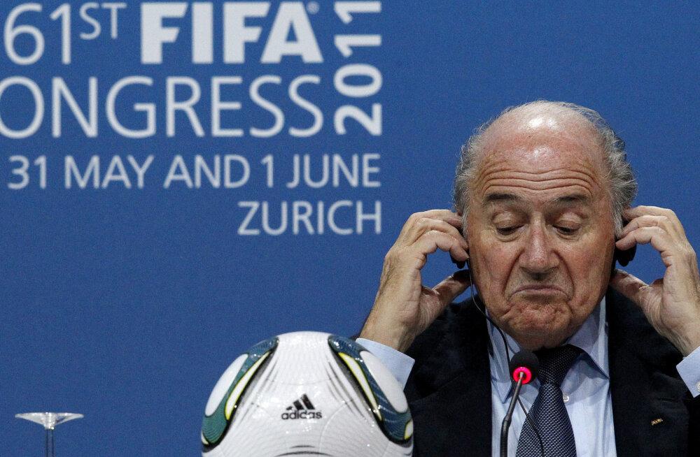 Blatter jätab FIFA meditsiinikonverentsile minemata