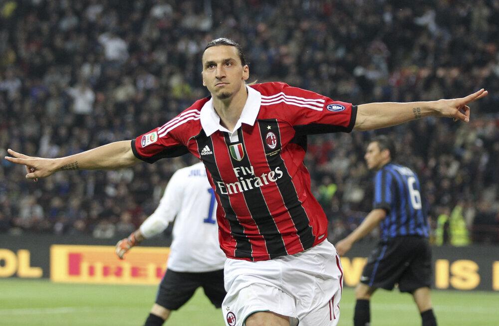 Ibrahimovic selgitas, miks Cagliari publik tema kuulsast väravatähistusest ilma jäi