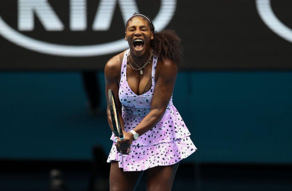 Rumeenia tennisist meenutas oma esimest kohtumist Serena Williamsiga: ta oli alasti, ma olin nädal aega šokis