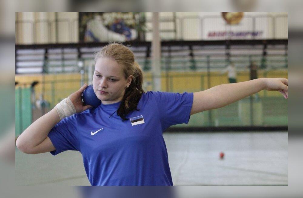 Kätlin Piirimäe purustas Eesti A-klassi kuulitõuke rekordi