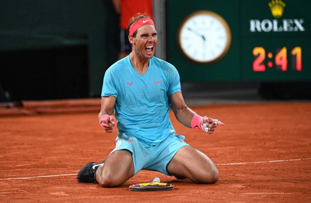 Rafael Nadal üritab Pariisis esimest tiitlit võita