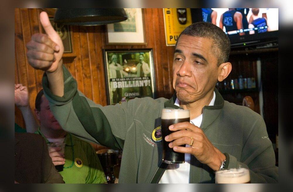 Barack Obamale maitseb õlu