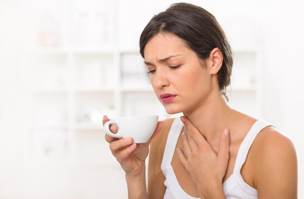 Kurguvalu leevendavad kõige paremini põletikuvastased preparaadid ehk peavalu ja palavikku alandavad ravimid.