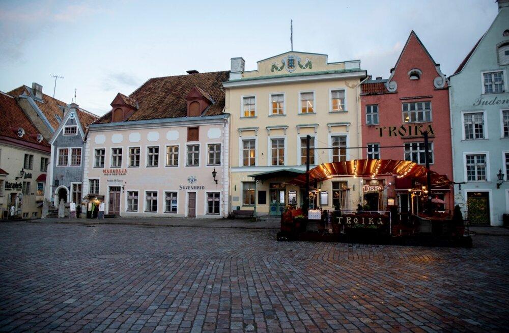 Väljasurev Tallinna vanalinn 4.11.2020