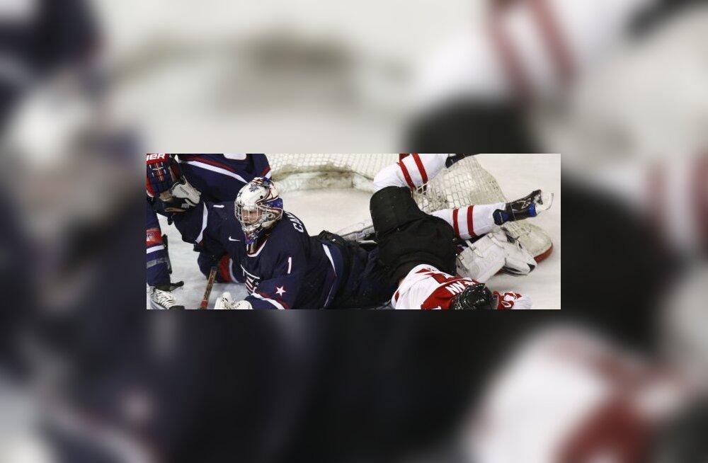 Kanada-USA U20 jäähoki